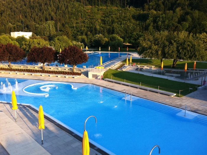 Naturpark Thal Freibad in Balsthal
